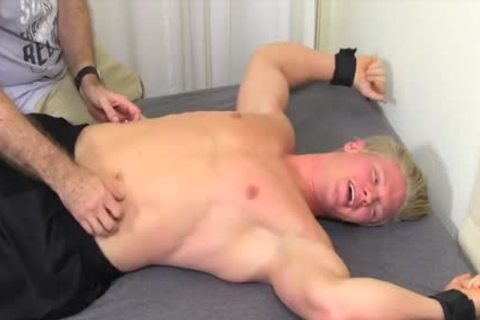 dirty And blonde dude Named Seamus gets Tickled Hard