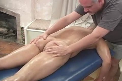 Amando enjoy's A Massage From Jake today