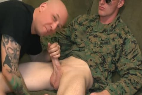 Marine Sgt James oral stimulation