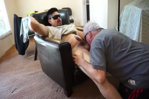 daddy man sucking And rimming Younger